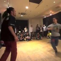 フットワークダンスバトル「BATTLETRAIN TOKYO ROAD2」