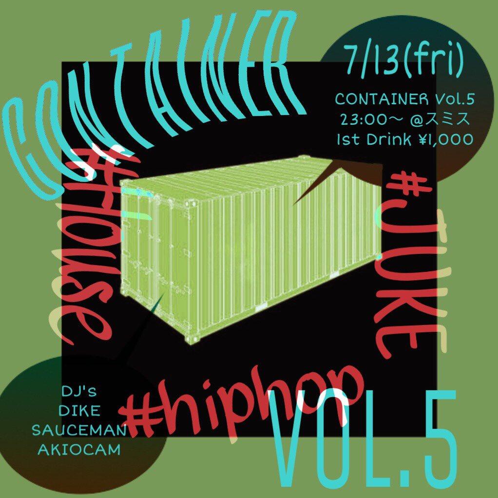CONTAINER Vol.5 @中野スミス