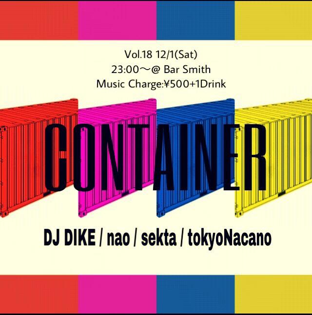 CONTAINER Vol.18